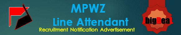 MPWZ Line Attendant Recruitment 2016 Online Application Form