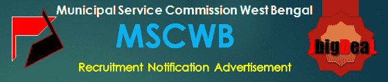 MSCWB Recruitment 2018 Online Application Form