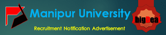 Manipur University Recruitment 2017 Application Form