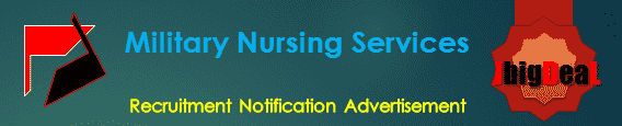 Military Nursing Services Recruitment 2017 Online Application form
