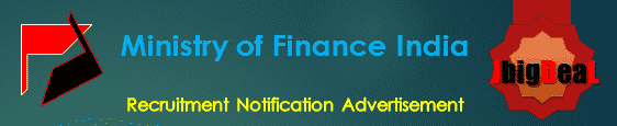 Ministry of Finance India Recruitment 2017 Application Form