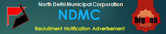 NDMC Recruitment 2018 Online Application Form
