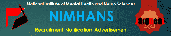 NIMHANS Accounts/ Administrative Assistant, IT Coordinator & Other Recruitment 2020 Application Form