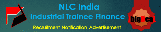 NLC India Industrial Trainee Finance Recruitment 2016 Application Form
