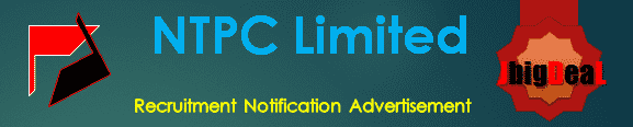 NTPC Limited Recruitment 2020 Online Application Form
