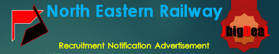 North Eastern Railway Recruitment 2018 Online Application form