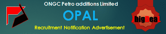 OPAL Recruitment 2018 Online Application Form