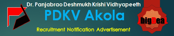 PDKV Akola Recruitment 2016 Online Application Form