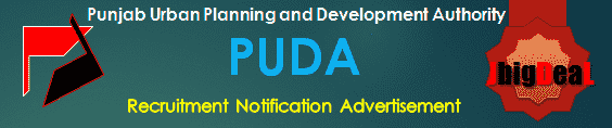 PUDA Recruitment 2018 Online Application Form
