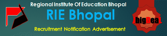 RIE Bhopal Recruitment 2018 Application Form