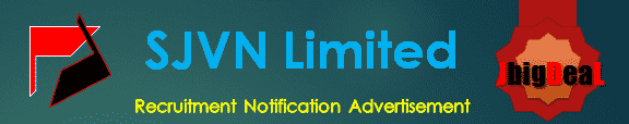 SJVN Limited Recruitment 2018 Online Application Form