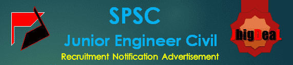 SPSC Junior Engineer Civil Recruitment 2016 Application Form