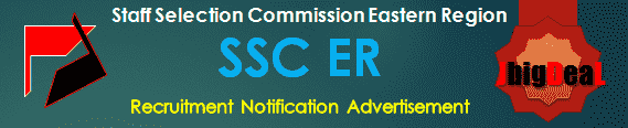 SSC ER Recruitment 2017 Online Application Form