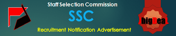 SSC Recruitment 2017 Online Application Form