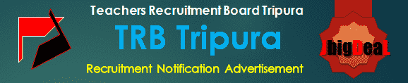 TRB Tripura Recruitment 2016 Online Application Form