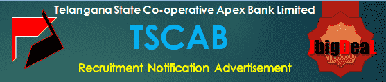 TSCAB Recruitment 2017 Online Application Form