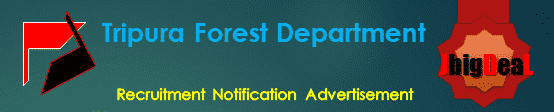 Tripura Forest Department Recruitment 2017 Application Form