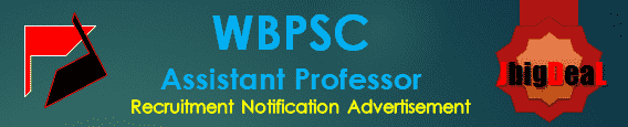 WBPSC Assistant Director Recruitment 2020 Online Application Form