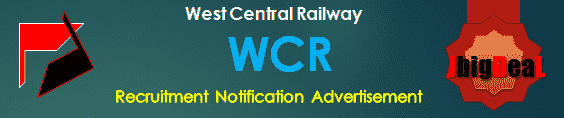 WCR Recruitment 2017 Online Application Form