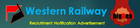 Western Railway Recruitment 2018 Online Application Form