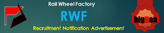 RWF Recruitment 2018 Application Form