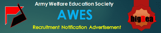 AWES Recruitment 2017 Online Application Form