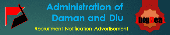 Administration of Daman and Diu Recruitment 2017 Online Application Form