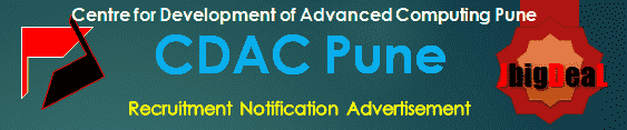 CDAC Pune Recruitment 2018 Online Application Form