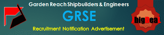 GRSE Apprentice and HR Trainee Recruitment 2020 Online Application Form