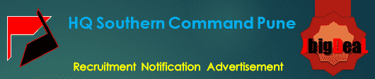 HQ Southern Command Pune Recruitment 2017 Online Application Form