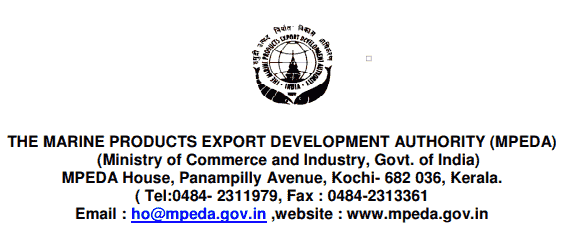 MPEDA Recruitment 2017 Application Form