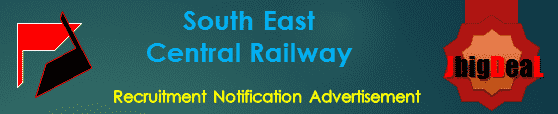 South East Central Railway Recruitment 2018 Online Application Form
