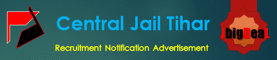 Central Jail Tihar Recruitment 2018 Application Form