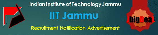IIT Jammu Recruitment 2019 Online Application Form
