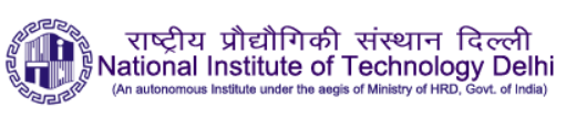 NIT Delhi Recruitment 2018 Application Form