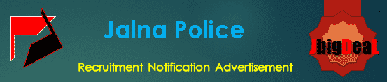 Jalna Police Recruitment 2018 Online Application Form