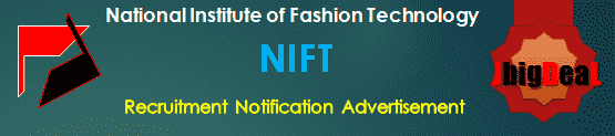 NIFT Recruitment 2018 Online Application Form