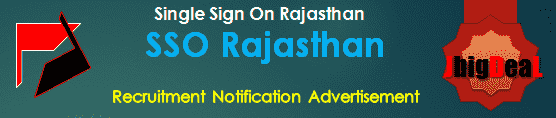SSO Rajasthan Recruitment 2018 Online Application Form