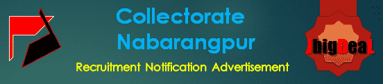 Collectorate Nabarangpur Recruitment 2018 Application Form