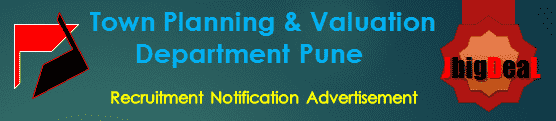 Town Planning & Valuation Department Pune Recruitment 2018 Online Application Form