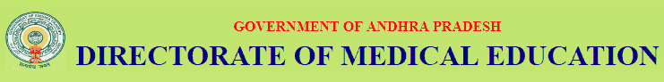DME AP Recruitment 2018 Application Form