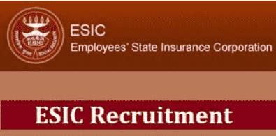 ESIC Faculty, SR & Other Recruitment 2020 Application Form