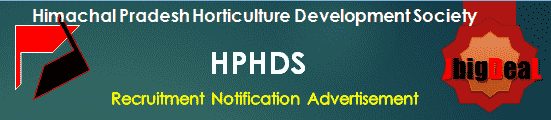 HPHDS Recruitment 2018 Application Form