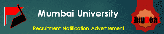 Mumbai University Recruitment 2018 Online Application Form