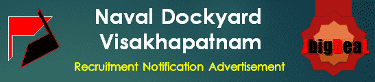 Naval Dockyard Visakhapatnam Recruitment 2018 Online Application Form