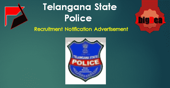 TS Police Recruitment 2018 Online Application Form