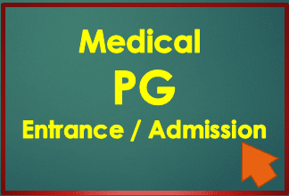 Medical PG Entrance 2021