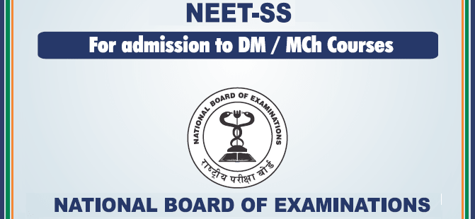 NEET SS 2019 Syllabus and Exam Pattern