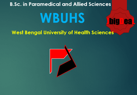 B.Sc in Paramedical Sciences/ Allied Sciences Admission 2018 West Bengal
