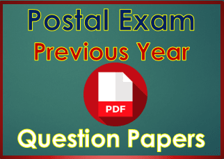 Postal Circle or Postman Mail or Guard Previous Year Question Papers with Answer Key